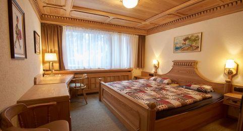Ferienwohnung Laax - Schlafzimmerzimmer