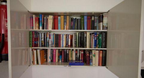 Bibliothek im Rancho in Laax