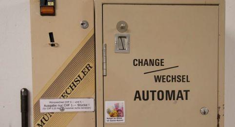 Münzwechsel-Automat